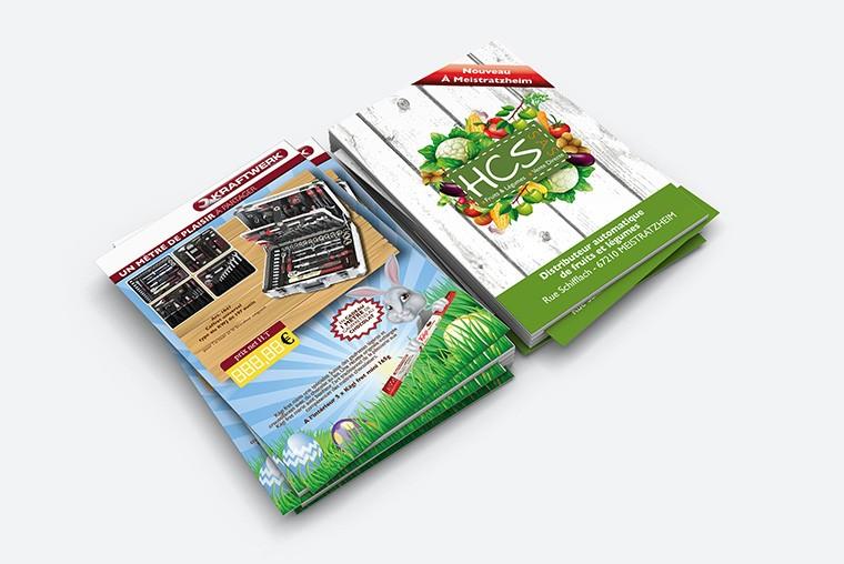 Exemple de flyers